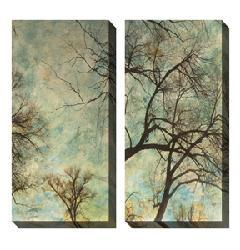 Gallery Direct Sara Abbott 'Abstract Trees' Oversized Canvas Art Set