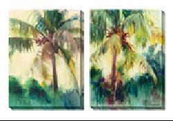 Gallery Direct Allyson Krowitz 'Coconut Palm' Oversized Canvas Art Set