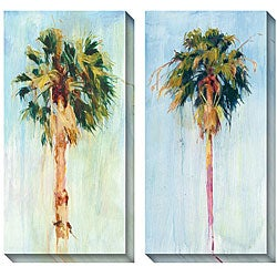 Gallery Direct Allyson Krowitz 'Cabbage Palm' Oversized Canvas Art Set