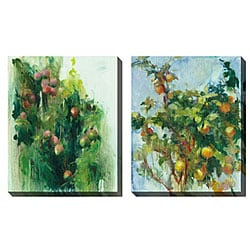 Gallery Direct Allyson Krowitz 'Mango' Oversized Canvas Art Set