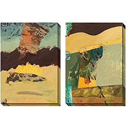 Gallery Direct AA Phoenix 'The Marriage of Sea and Sky' Oversized Canvas Art Set
