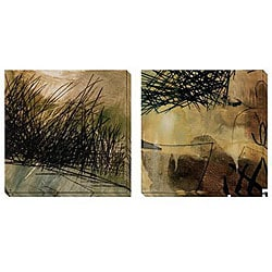 Gallery Direct Caroline Ashton 'Nest Series I & II' Oversized Canvas Art Set
