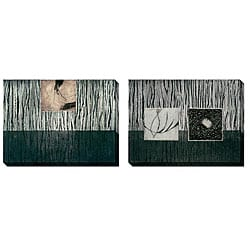 Gallery Direct Caroline Ashton 'Nest Series IV & V' Oversized Canvas Art Set