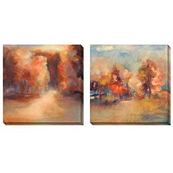 Gallery Direct Caroline Ashton 'Daydream' Oversized Canvas Art Set