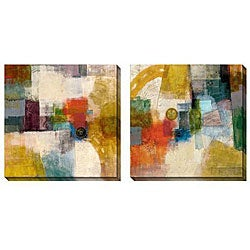Gallery Direct Bailey 'Apex' Oversize Canvas 2-piece Art Set