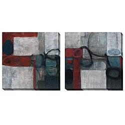 Gallery Direct Bailey 'Audax' Oversized Canvas Art Set