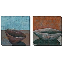 Gallery Direct Bailey 'Sky Bowl' Oversized Canvas Art Set