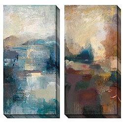 Gallery Direct Bailey 'Seasonal Tones I & II' Oversized Canvas Art Set