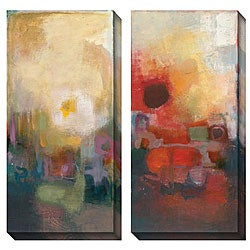 Gallery Direct Bailey 'Seasonal Tones III & IV' Oversized Canvas Art Set