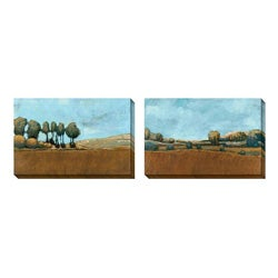 Gallery Direct Bailey 'Merry Hill' Oversized Canvas Art Set