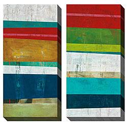 Gallery Direct Benjamin Deal 'Divisive Harmony' Oversized Canvas Art Set
