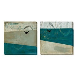 Gallery Direct Benjamin Deal 'Inquisitive Response' Oversized Canvas Art Set