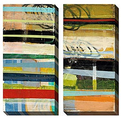 Gallery Direct Benjamin Deal 'Popular Thesis' Oversized Canvas Art Set