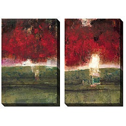 Gallery Direct Jane Bellows 'Linear Dream' Oversized Canvas Art Set