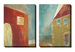 Gallery Direct Jane Bellows 'The House' Oversized Canvas Art Set