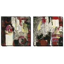 Gallery Direct Jane Bellows 'Uninterrupted' Oversized Canvas Art Set