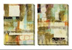 Gallery Direct Jane Bellows 'Copius' Oversized Canvas Art Set - Thumbnail 2