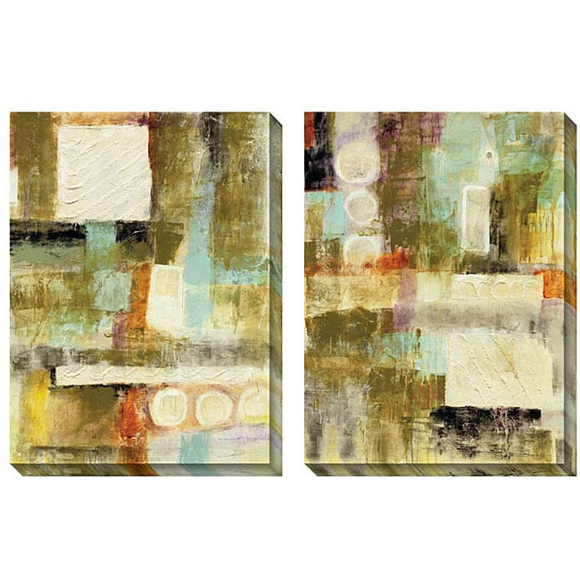 Gallery Direct Jane Bellows 'Copius' Oversized Canvas Art Set