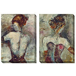 Gallery Direct Jane Bellows 'Girl with Pearl Earing' Oversized Canvas Art Set