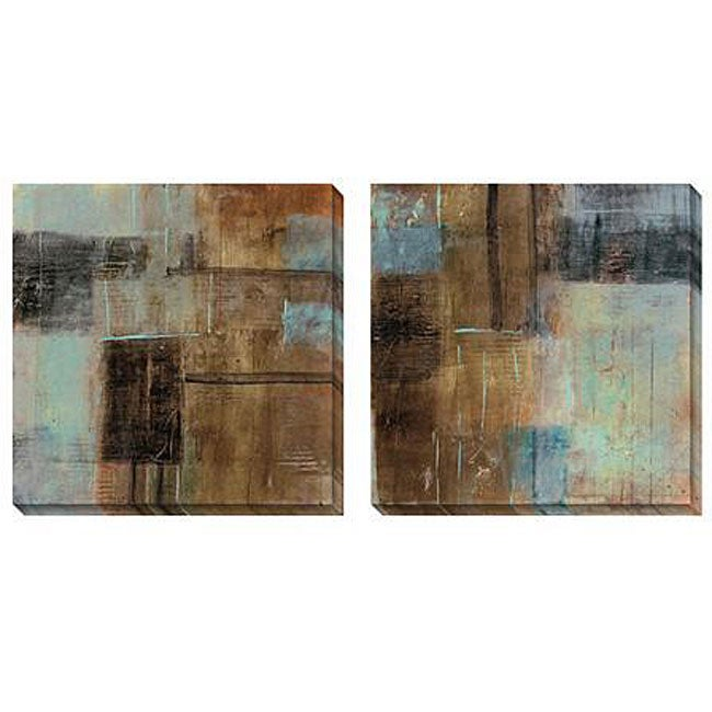 Gallery Direct Jane Bellows 'Charmed' Oversized Canvas Art Set