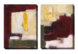 Gallery Direct Jane Bellows 'Elevated Expression' Oversized Canvas Art Set