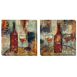 Gallery Direct Jane Bellows 'The Good Life' Canvas Art Set