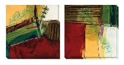 Gallery Direct Barbara Zoern 'Foliage III & V' Oversized Canvas Art Set
