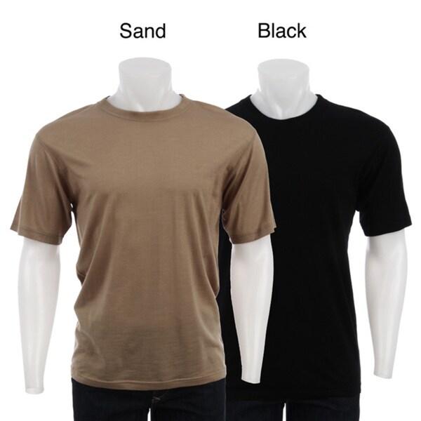 Kenyon Men's Short-sleeve Australian Merino Wool Shirt