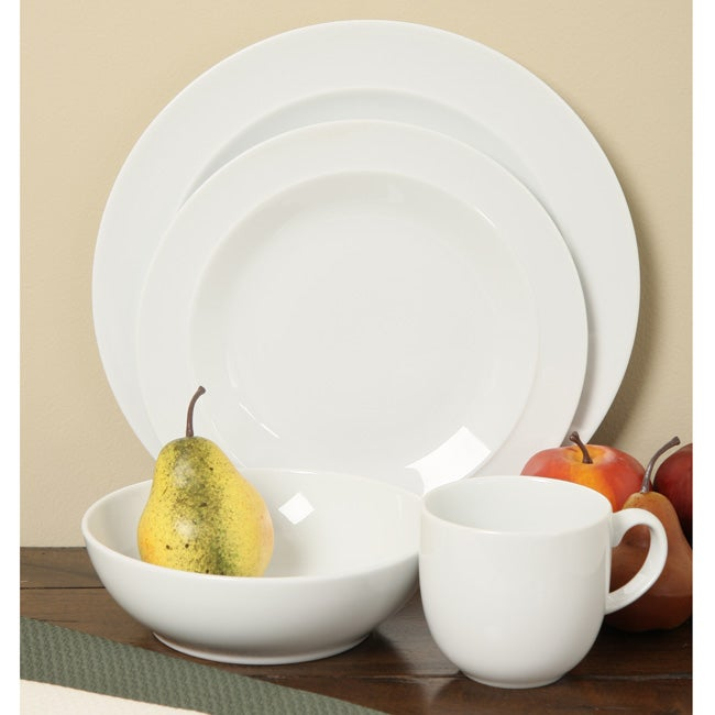 Shop Denby White 16 Piece Dinnerware Starter Set Free