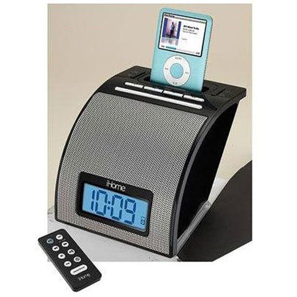 iHome iH11BRC iPod Alarm Clock Docking Station (Refurbished)