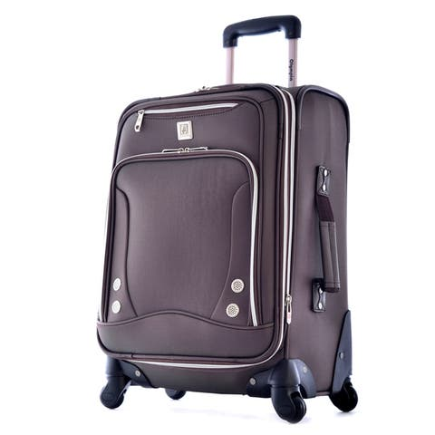 Olympia Skyhawk 21-inch Expandable Carry-on Spinner Upright