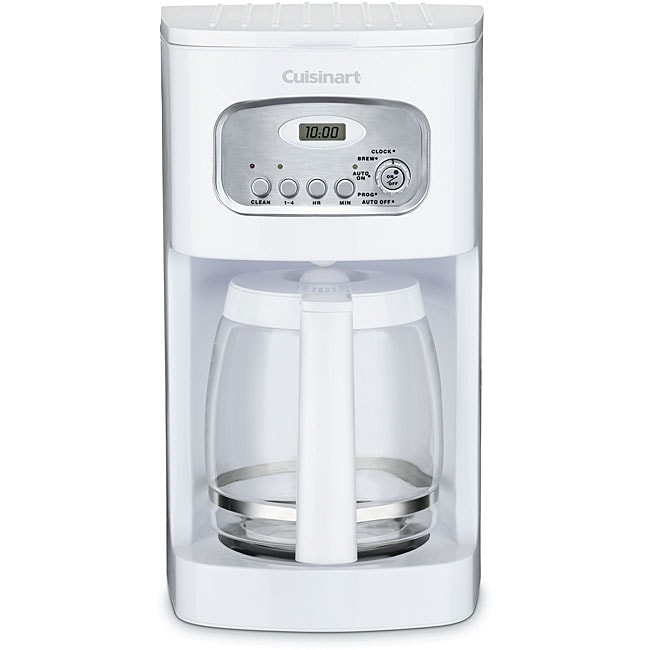 Cuisinart DCC-1100FR White 12-cup Coffeemaker (Refurbished)