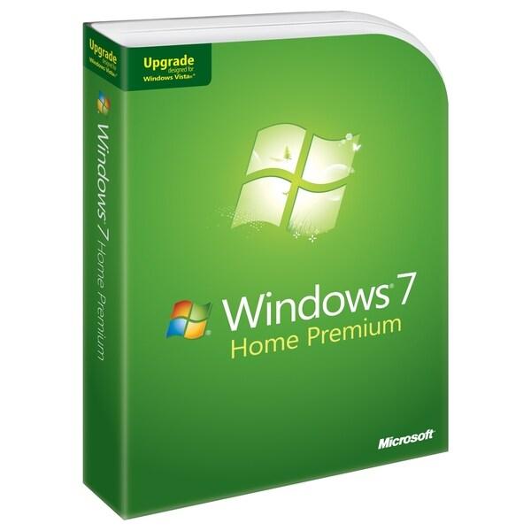 Microsoft Windows 7 Home Premium - Upgrade - Version Upgrade