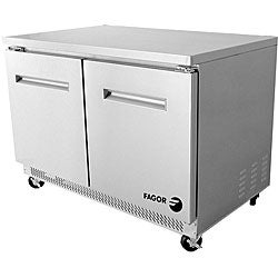 Fagor Commercial FUR-48 Double-door Under-counter Refrigerator