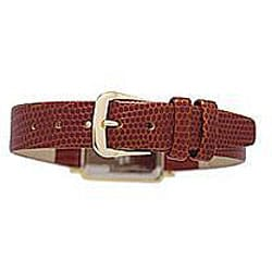 Le Chateau Women's Goldplated Brown Leather Strap Watch - Thumbnail 1