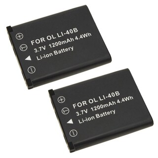 INSTEN Two Rechargeable Batteries for Fuji FinePix