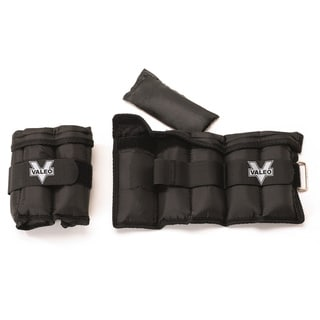 Valeo VA4533BK 5-pound Adjustable Ankle/Wrist Weights