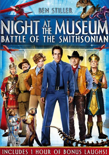 Night at the Museum - Battle of the Smithsonian (DVD)