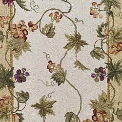 Safavieh Hand-hooked Flora Ivory Wool Rug (3' x 12') - Thumbnail 2