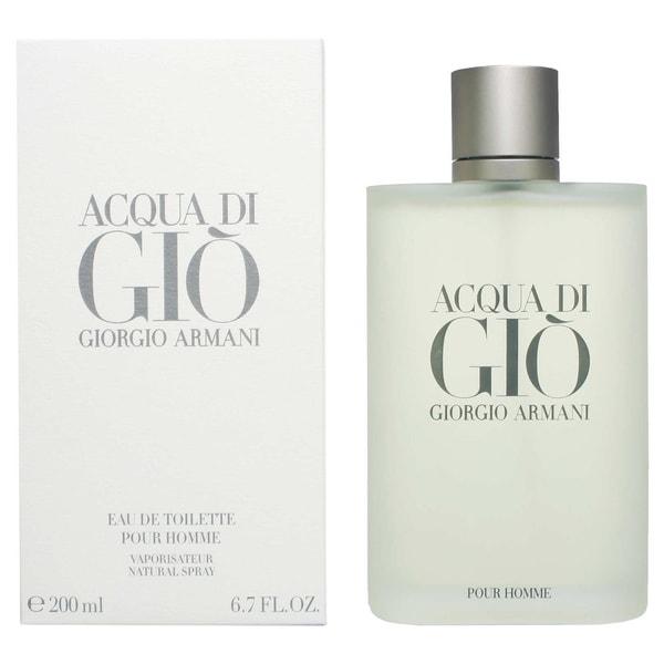 georgio armani acqua di gio pour homme s 6 7 ounce eau de