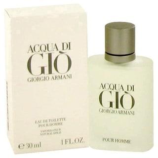 Giorgio Armani Acqua Di Gio Men's 1-ounce Eau de Toilette Spray