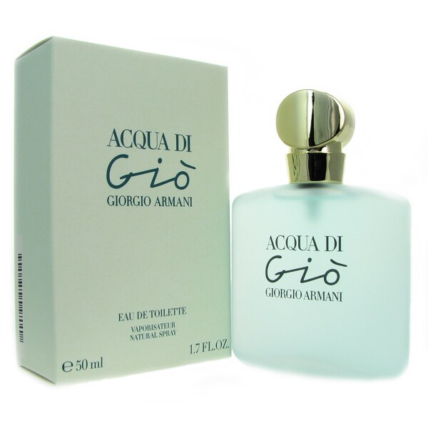 Shop Acqua Di Gio Womens 17 Ounce Eau De Toilette Spray Free