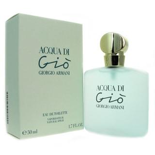 Acqua Di Gio Women's 1.7-ounce Eau de Toilette Spray