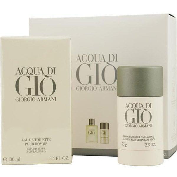 Giorgio Armani Acqua Di Gio Men's 2-piece Fragrance Set