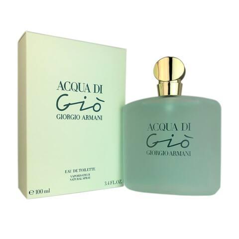 Giorgio Armani Acqua Di Gio Women's 3.4-ounce Eau de Toilette Spray