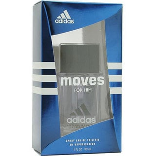 Adidas Moves Men's 1-ounce Eau de Toilette Spray