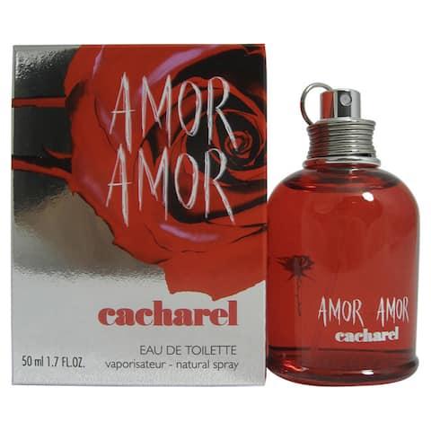 Cacharel Amor Amor Women's 1.7-ounce Eau de Toilette Spray