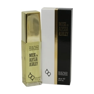 Alyssa Ashley Musk Women's 3.4-ounce Eau de Toilette Spray