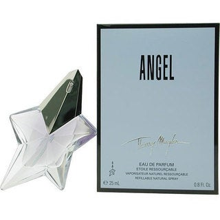 Thierry Mugler Angel Women's 0.8-ounce Eau de Parfum Refillable Spray
