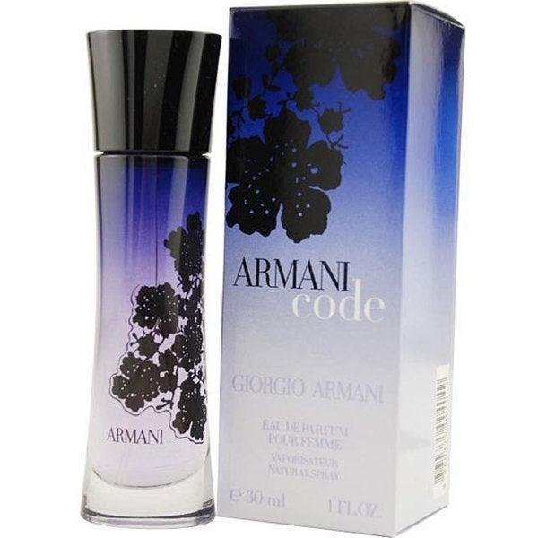 4adfecfe6c9a Shop Women s Giorgio Armani Code 1-ounce Eau de Parfum Spray - Free ...
